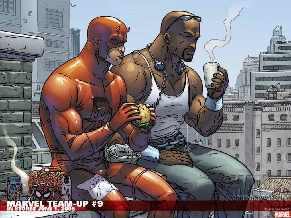 Daredevil junto a Luke Cage
