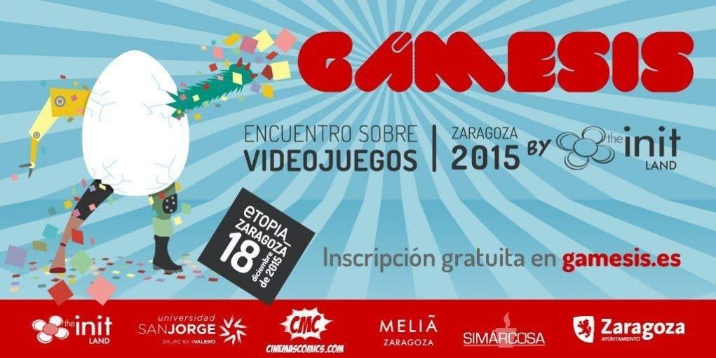 Gámesis 2015 - Encuentro sobre videojuegos