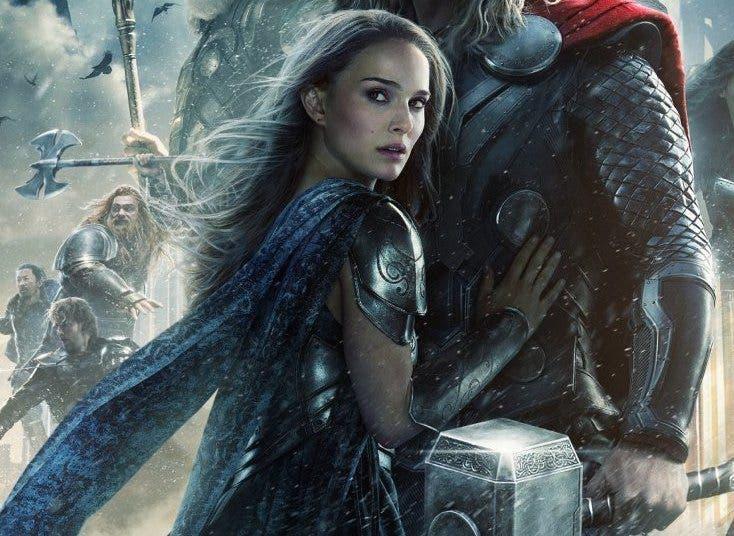 Jane foster (Natalie Portman) Thor el mundo oscuro