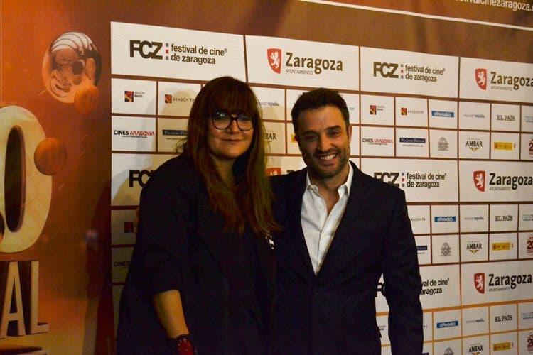 Isabel Coixet y Daniel Guzmán gala inaugural de Festival de cine de Zaragoza