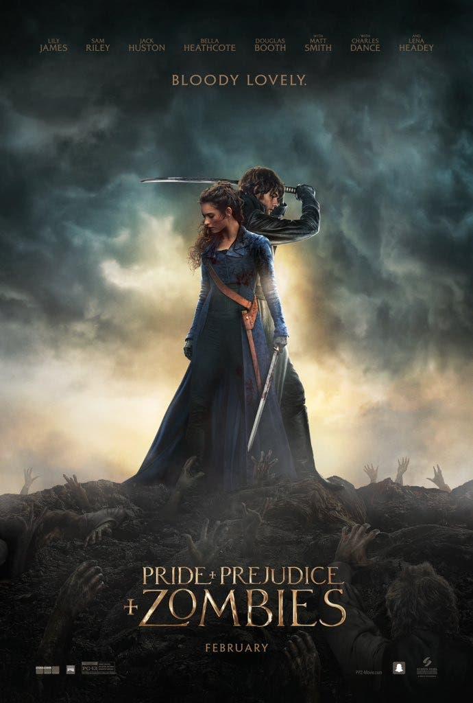 Nuevo poster de Orgullo y prejuicio y Zombies