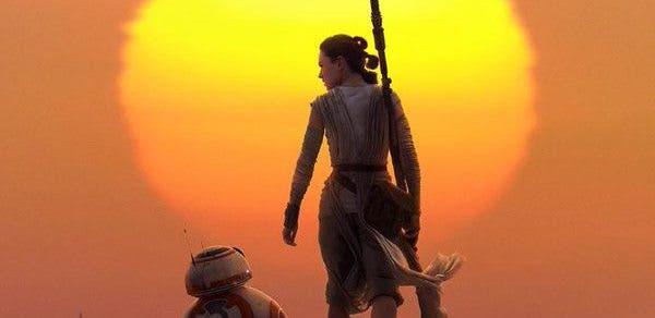 Poster IMAX de Star Wars: El despertar de la fuerza