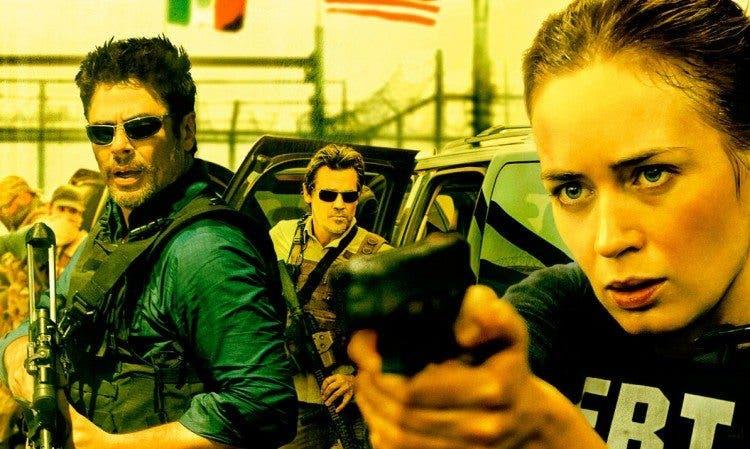 Benicio del Toro, Josh Brolin y Emily Blunt protagonizan Sicario