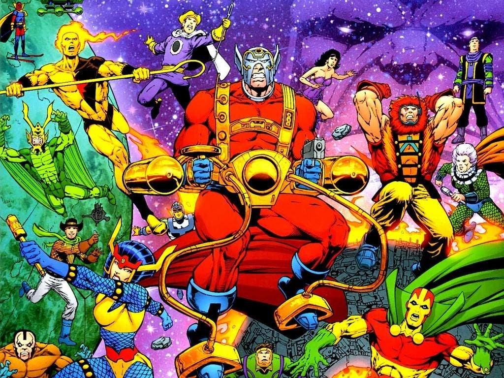 new gods DC Comics