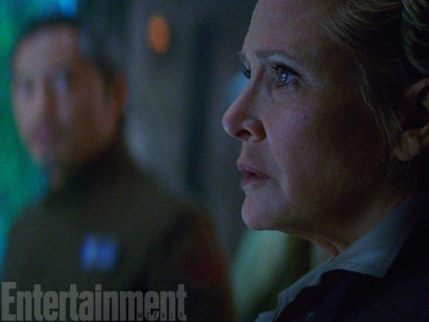Leia en star wars el despertar de la fuerza