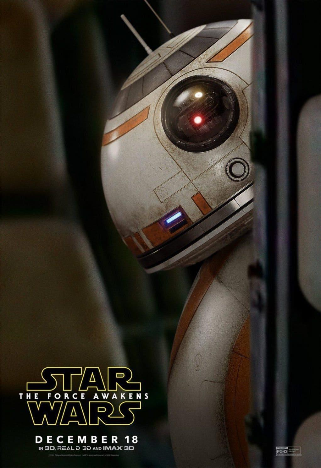 BB-8 (nuevo póster - STAR WARS)