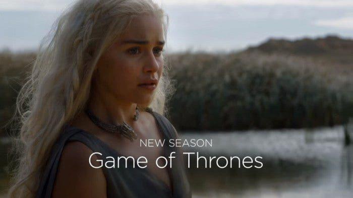 Daenerys en la sexta temporada de juego de tronos