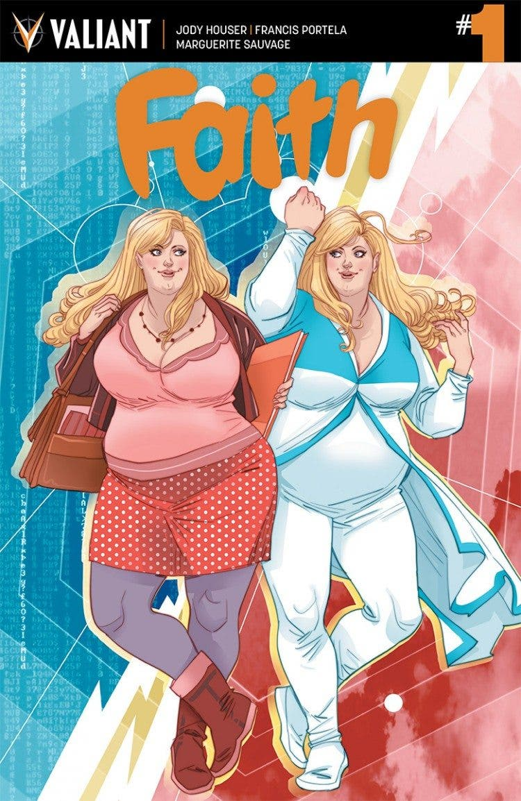 Faith Valiant comics
