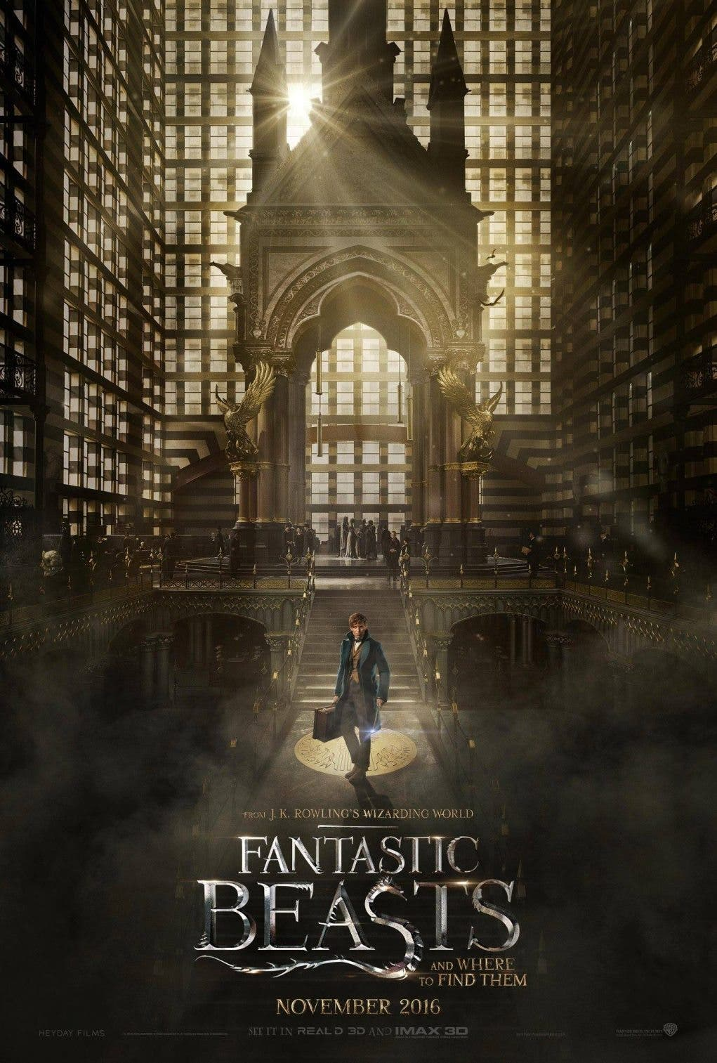 Fantastic Beasts and Where to Find Them (poster)