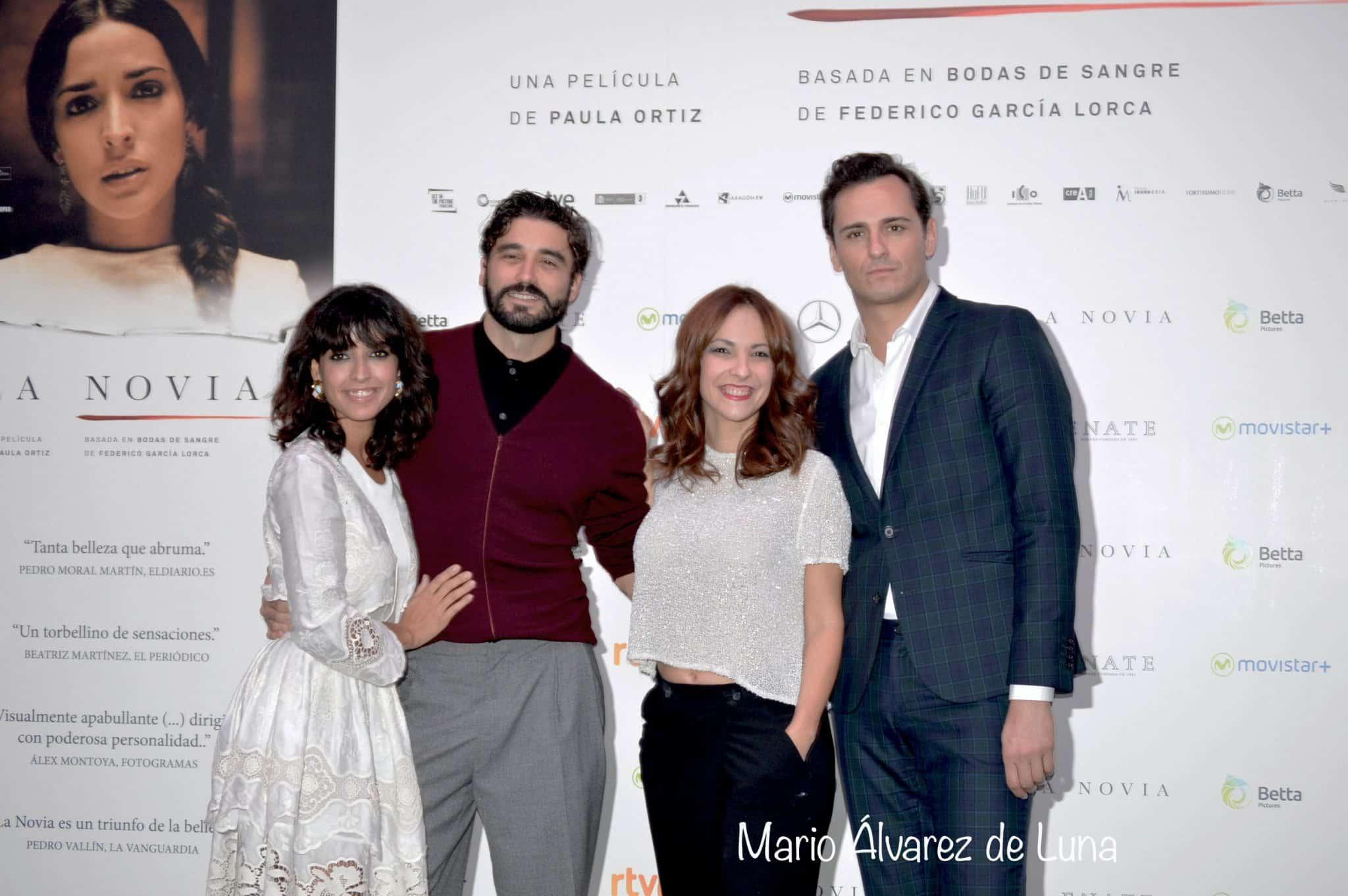 La novia Paula Ortiz e Inma Cuesta