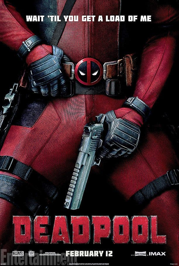 Nuevo poster de Deadpool EW