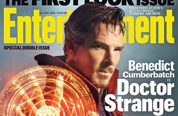 Primera imagen oficial de Doctor Strange