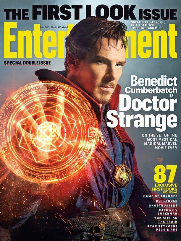 Primera imagen oficial de Doctor Extraño Ew