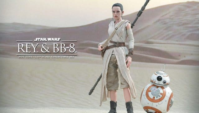 Rey y BB8 Star Wars: El despertar de la fuerza, Hot Toys