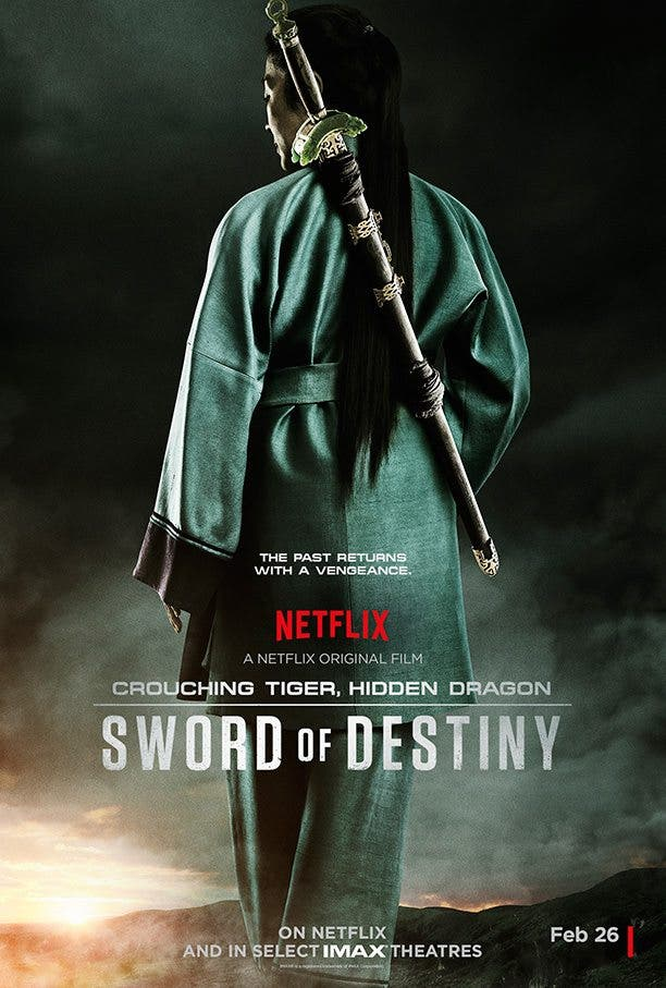 Póster de Crouching Tiger, Hidden Dragon: Sword of Destiny