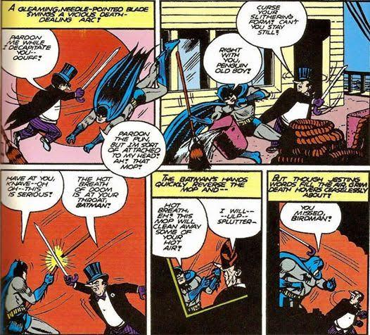 pinguino pagina comic Batman