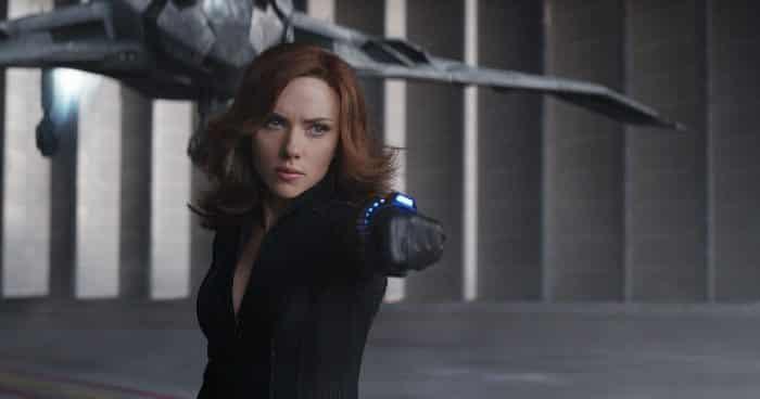 Scarlett Johansson es viuda negra en civil war