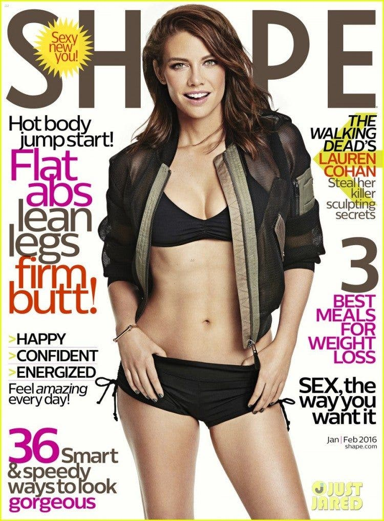walking-deads-lauren-cohan-bares-amazing-body-for-shape