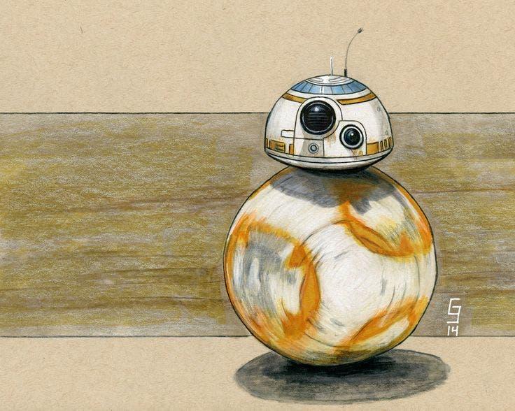 Personajes para la película de 'Han Solo': Mother Proxima (Dave Chapman; BB-8)