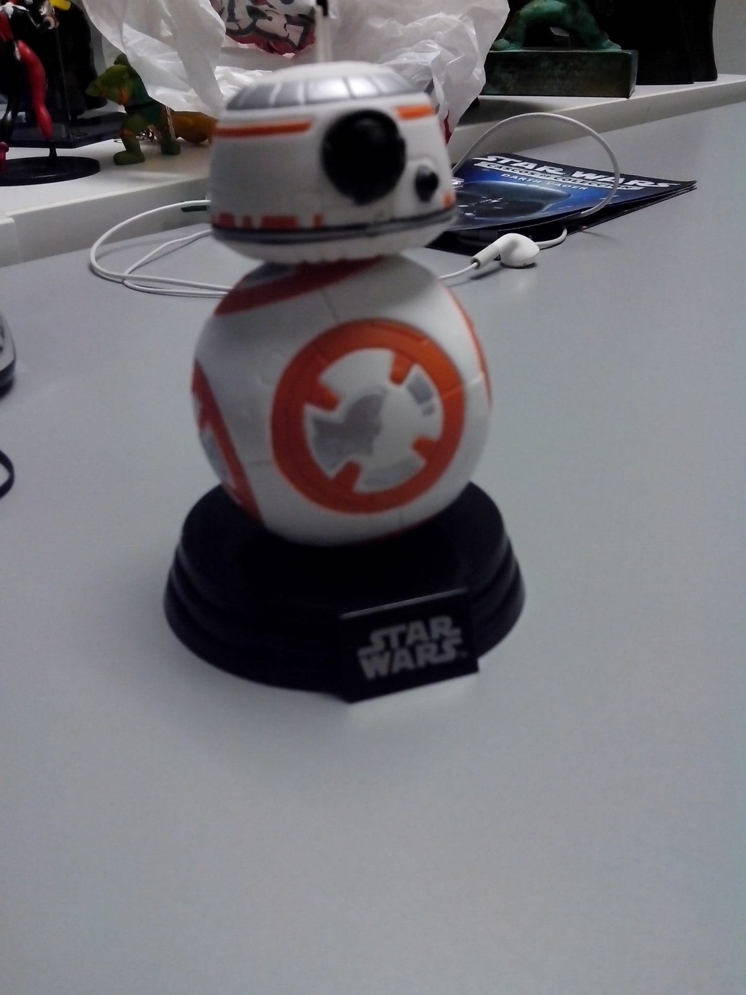 BB-8 - teoría STAR WARS