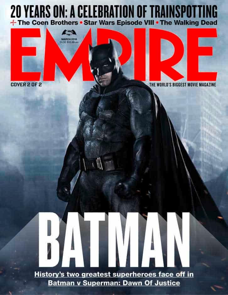 Batman - Batman v Superman - portada EMPIRE