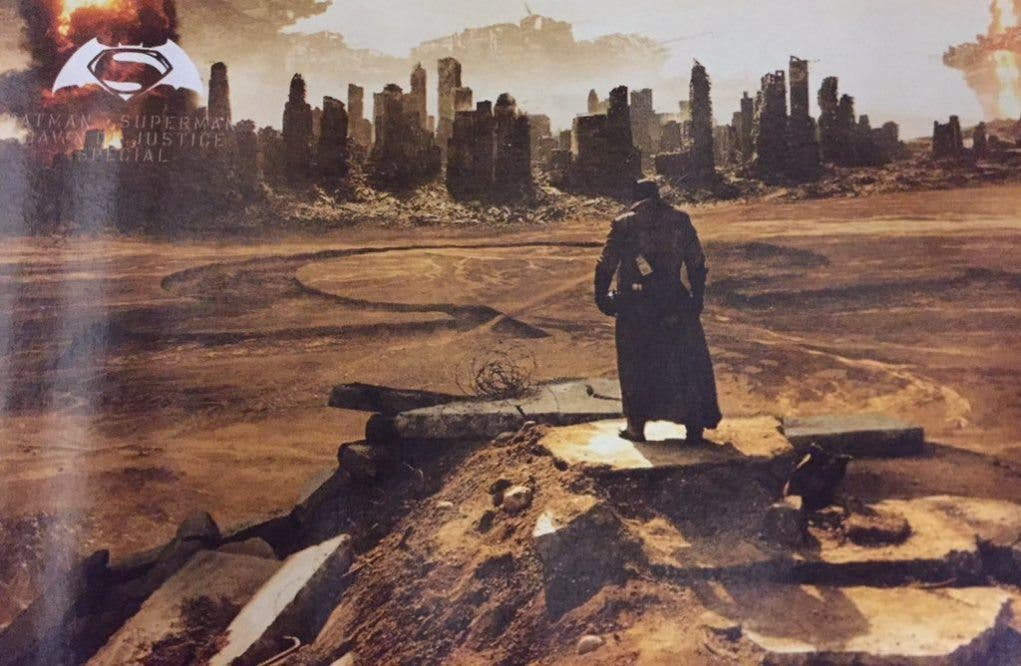 Batman v Superman - SPOILER - Darkseid