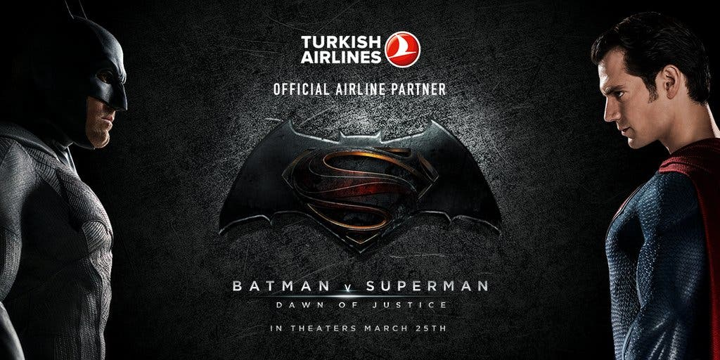 Batman v Superman - poster promocional
