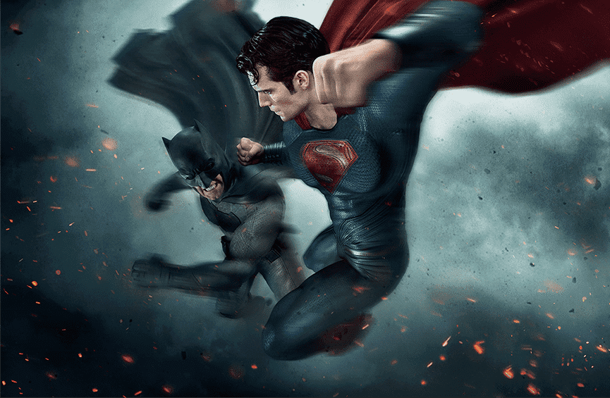 Desvelado un nuevo póster fan-art de 'Batman v Superman: El amanecer de la Justicia'