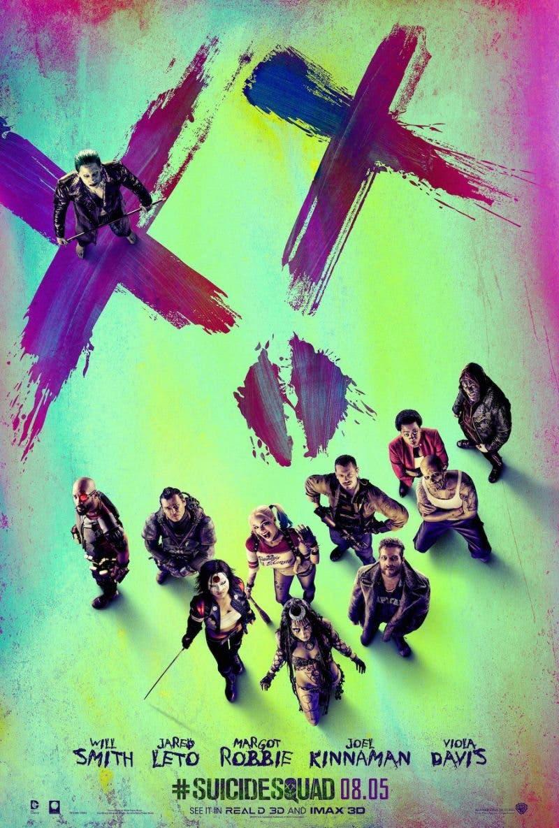 Escuadron Suicida - poster nuevo