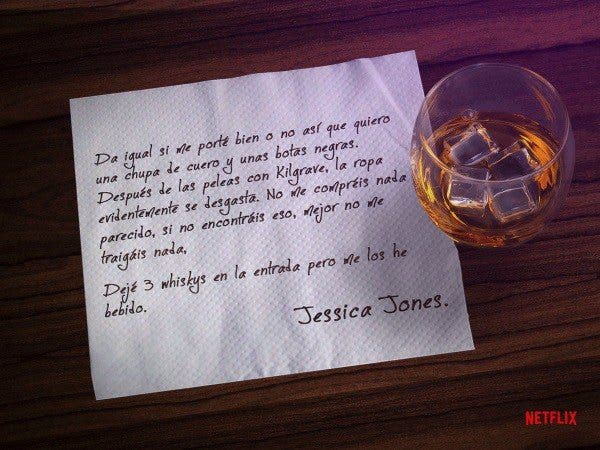 Jessica Jones (Reyes Magos - carta)