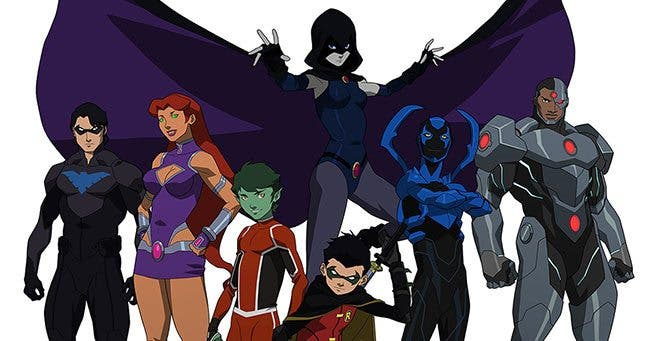 Justice League Teen Titans