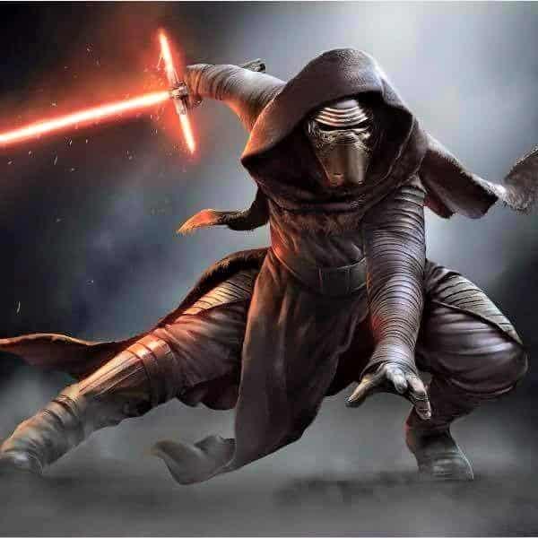Kylo Ren - Darth Vader (2)