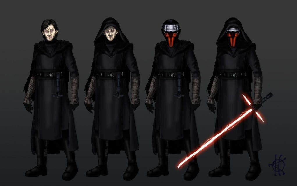 Kylo Ren - Darth Vader (4)