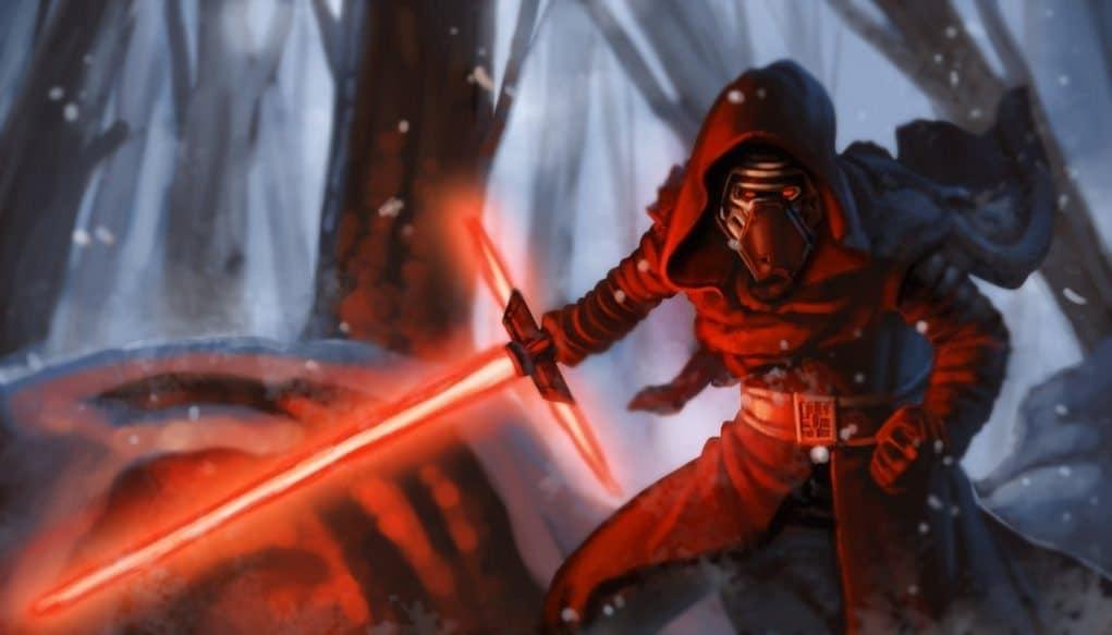Kylo Ren - Darth Vader (5) Star Wars: Episodio VIII