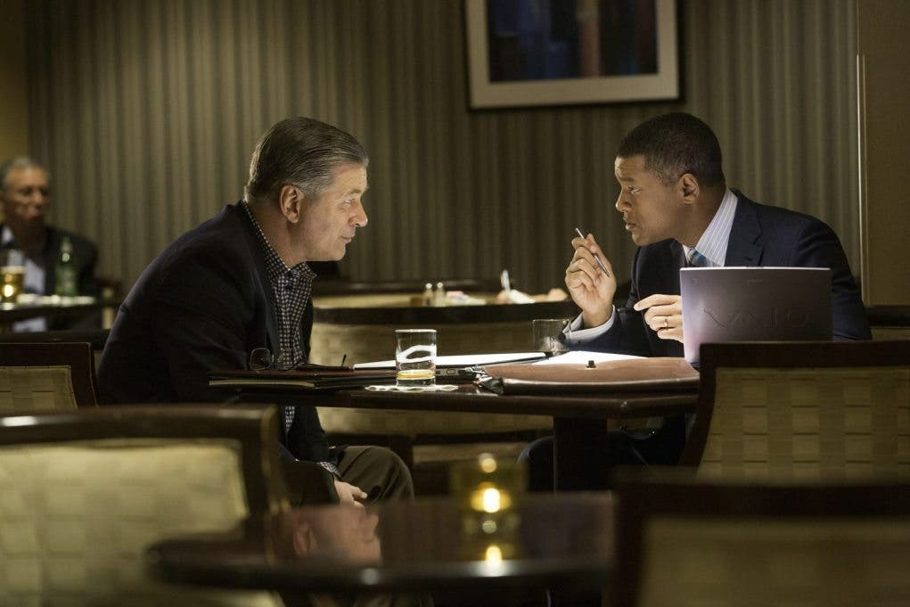 La verdad duele con Will Smith y Alec Baldwin