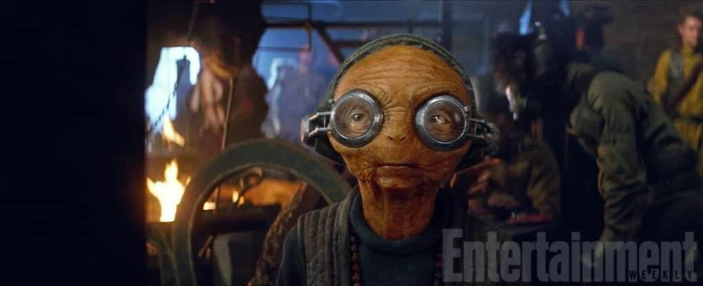 Maz Kanata en Star Wars: Los Últimos Jedi