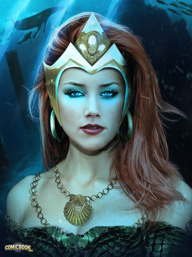 Posible aspecto de Mera en 'Aquaman'