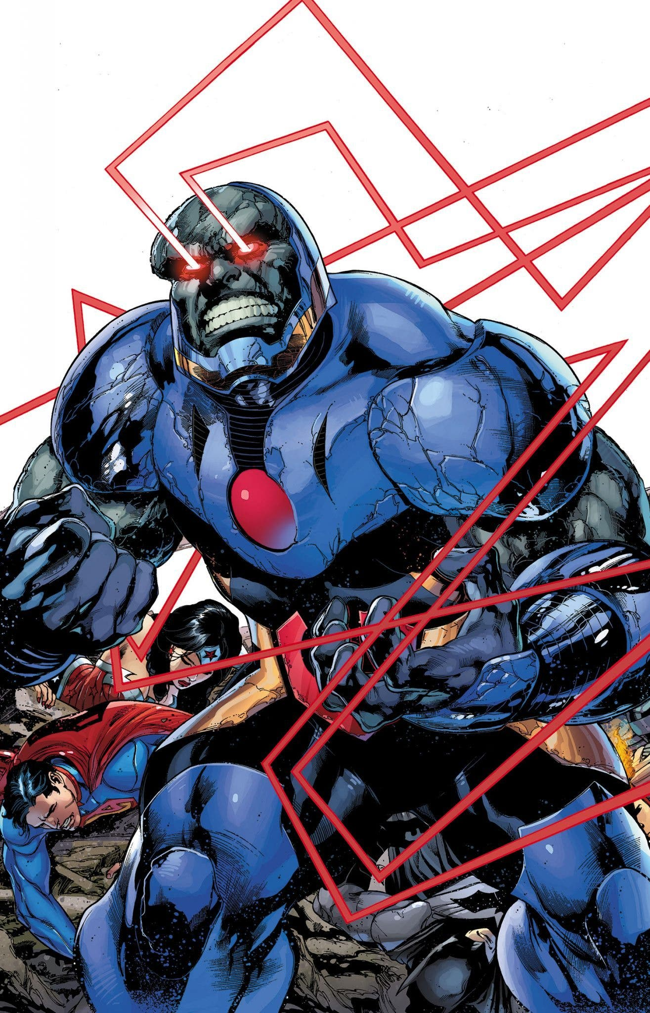 Rayos Omega - Darkseid - Batman v Superman (3)