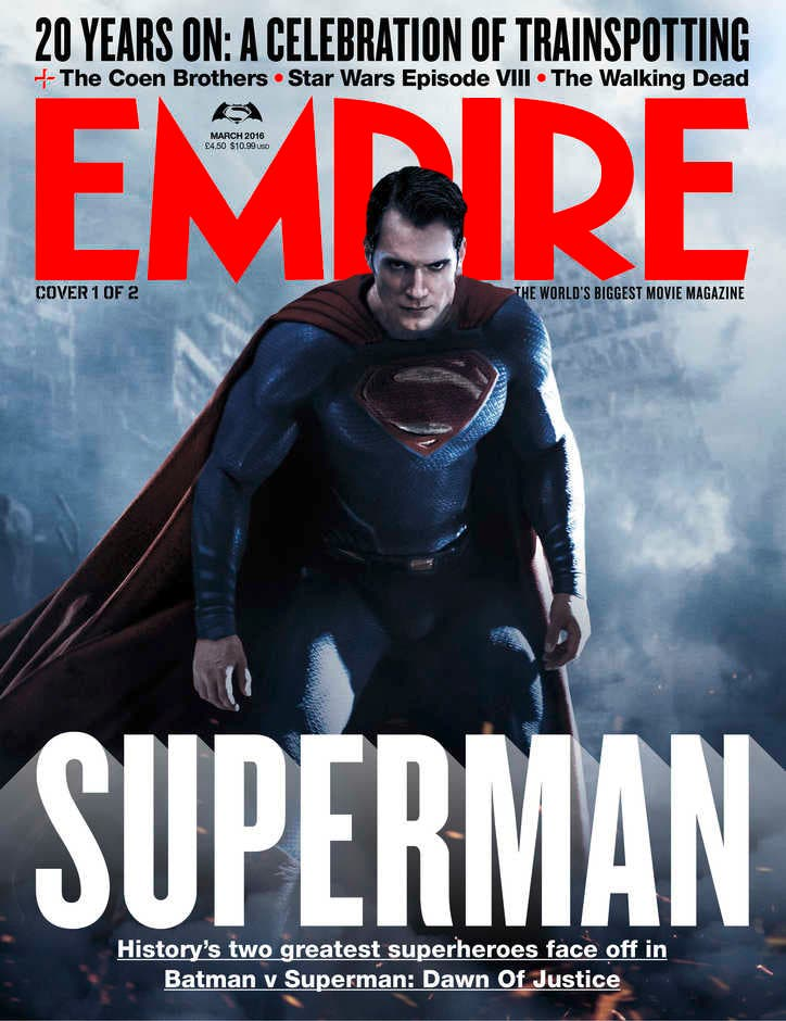 Superman - Batman v Superman - portada EMPIRE