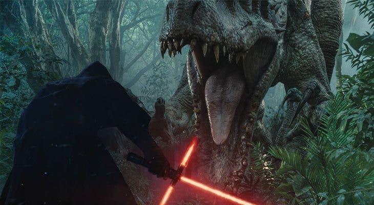 Jurassic World vs Star Wars