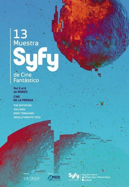 13 Muestra Syfy 2016 de Cine Fantástico