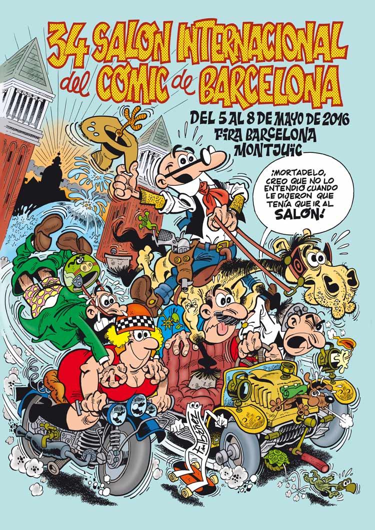 FICOMIC - Presenta su 34 edición del Salón Internacional del Cómic de Barcelona