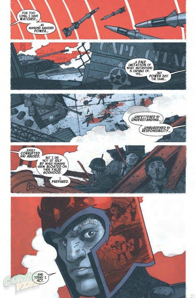 Magneto: Los últimos días