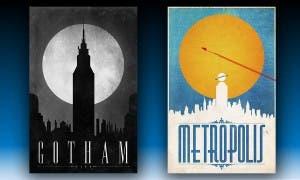 Batman v Superman - Gotham y Metropolis