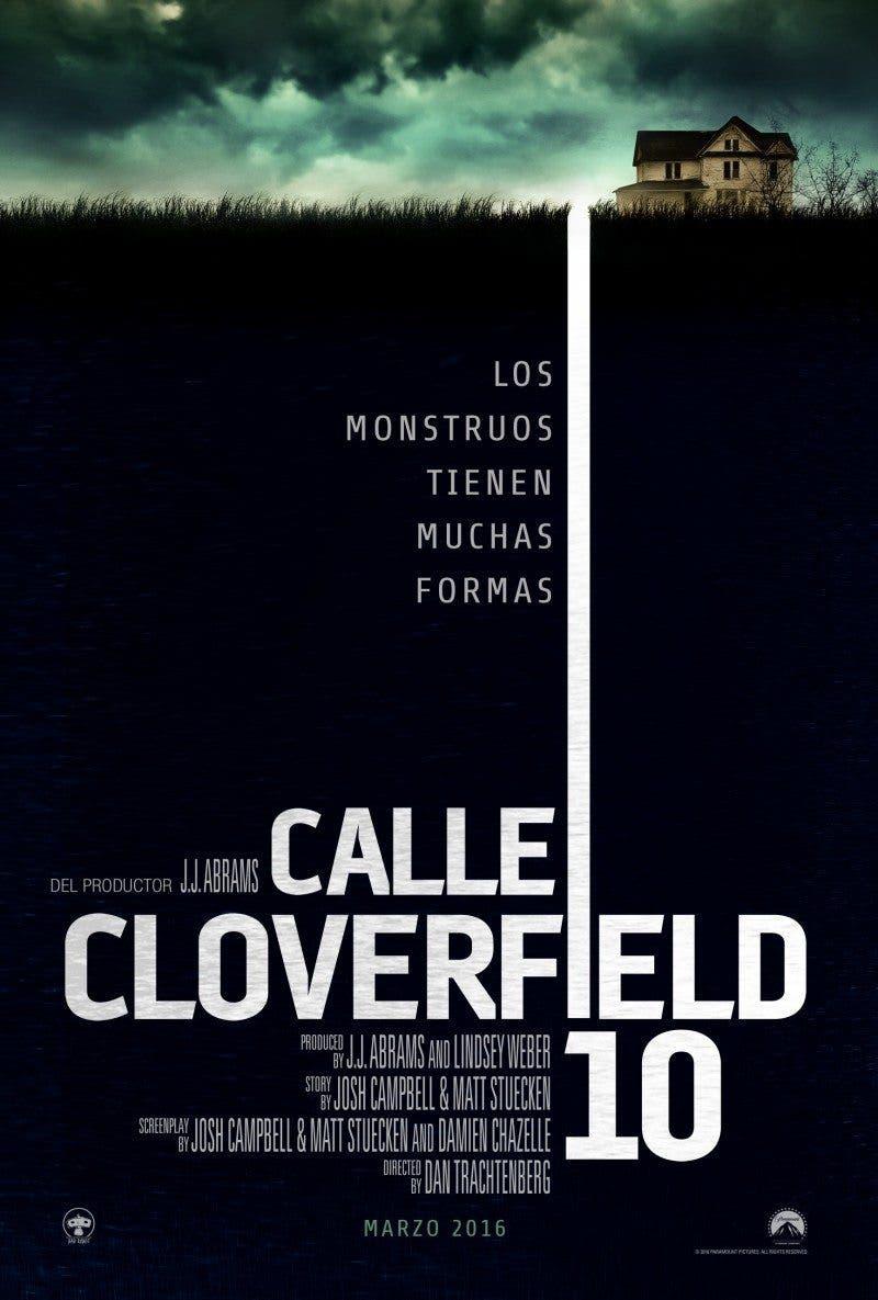 Teaser Póster Calle Cloverfield, 10