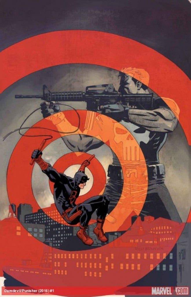 Daredevil y Punisher