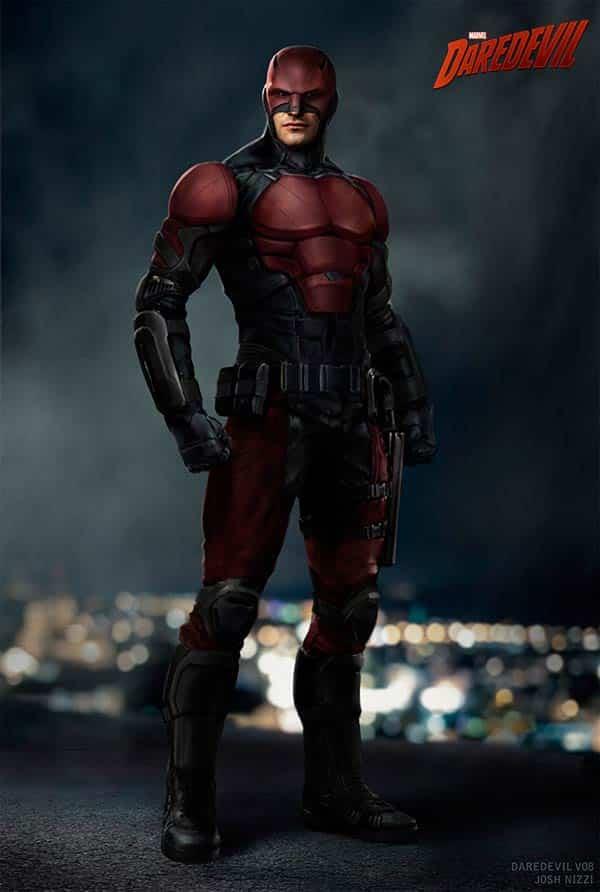 Así eran las versiones alternativas del traje de Daredevil en Netflix