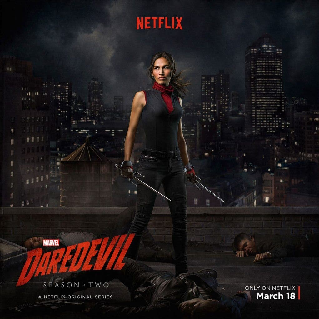 Elektra Daredevil 2 temporada