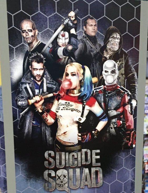 Escuadron Suicida - Nuevo poster - Harley Quinn (Margot Robbie)