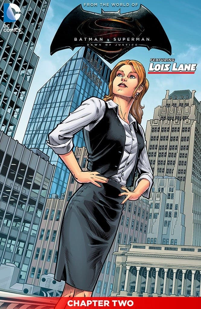 Lois Lane 'Batman v Superman'